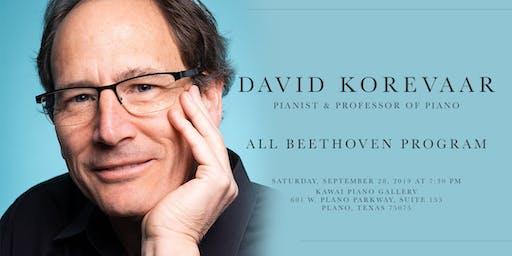 All Beethoven Recital by David Korevaar