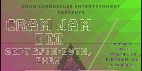 CraM JaM III tickets