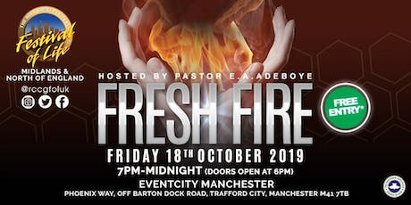 FOL Manchester October 2019 (FRESH FIRE) Delegate tickets