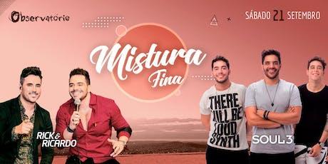 MISTURA FINA - 21/09 ingressos