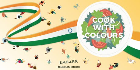 Embark's Community Kitchen: Cook with Colour tickets