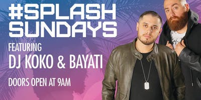 Splash Sundays at Go Pool Free Guestlist - 10/13/2019