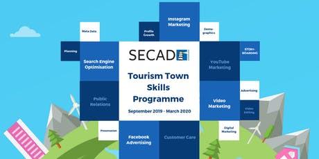 SECAD Tourism Towns Skills Programme - Instagram Marketing Programme 2 tickets