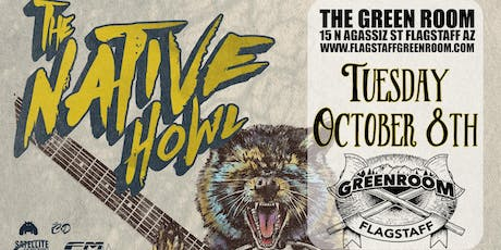 The Native Howl @ Flagstaff's Green Room tickets