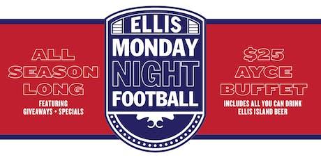 Monday Night Football at Ellis Island tickets