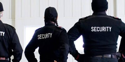 Saturday Special Security Guard Training