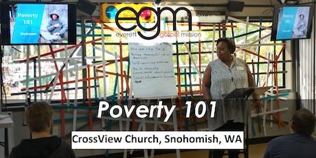 EGM Poverty 101 @ CrossView Church tickets