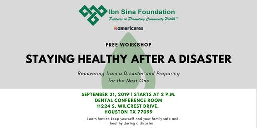 Staying Healthy After a Disaster Workshop
