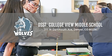 DSST: College View Middle School Open Houses 19-20 tickets