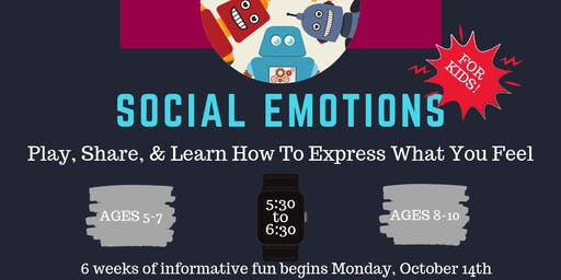 Social Emotions For Kids (Ages 5-7 & 8-10)
