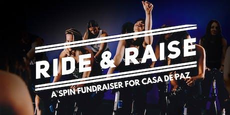 Ride & Raise: A Spin Fundraiser for Casa de Paz tickets