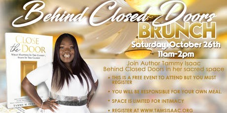 Behind Closed Doors Brunch tickets