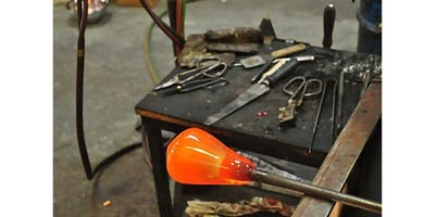 Learn to Blow Glass with Jason - Professional Glass Maker (2 - 4 participants) (2019-12-15 starts at 1:15 PM)