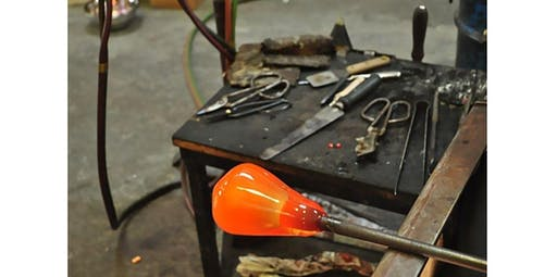 Learn to Blow Glass with Jason - Professional Glass Maker (2 - 4 participants) (2020-04-05 starts at 5:00 PM)