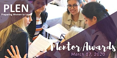 2020 PLEN Mentor Awards tickets