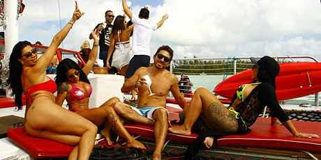 SUNSET BOOZE CRUISE MIAMI + JET SKI + PARTY BUS & OPEN BAR  tickets