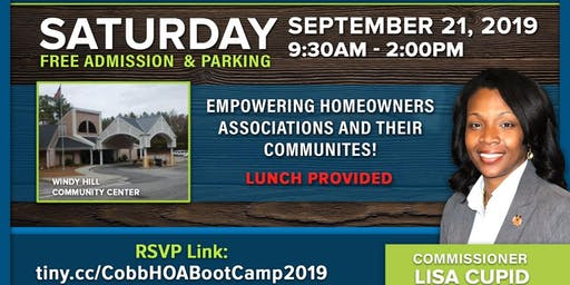 4th Annual Cobb HOA Bootcamp