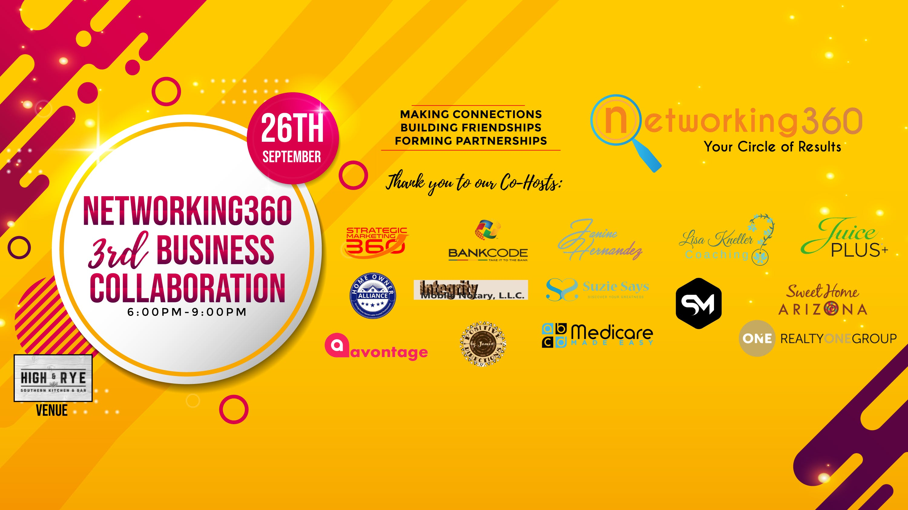 Networking360 3rd Business Collaboration