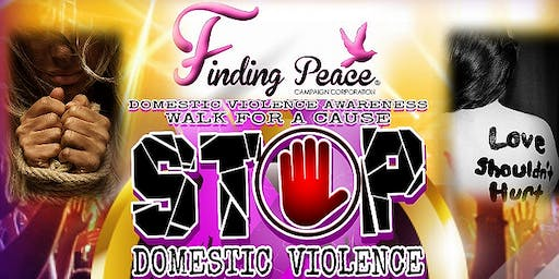 Finding Peace Campaign Domestic Violence Walk for a cause at Trinity Colleg