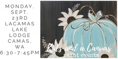 Kids and a Canvas ***** Paint Night! - Hello Fall
