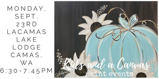 Kids and a Canvas ADULT Paint Night! - Hello Fall