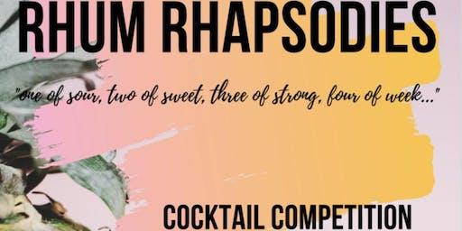 Rhum Rhapsodies Cocktail Competition - A Tribute to Tiki