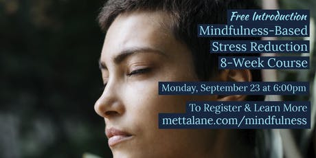 Free Introduction to Mindfulness-Based Stress Reduction tickets