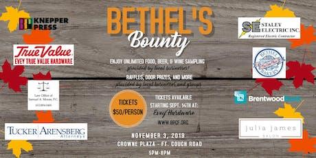 Bethel's Bounty 2019 tickets