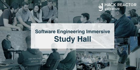 Software Engineering Immersive Prep: Study Hall tickets
