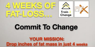 4 WEEKS OF FAT LOSS with RonnyG of Train2Change