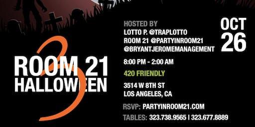 Room 21 Halloween 3