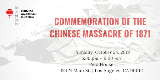 Commemoration of the Chinese Massacre of 1871