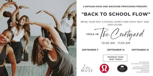 Back to School Yoga with L'Artisan Muse