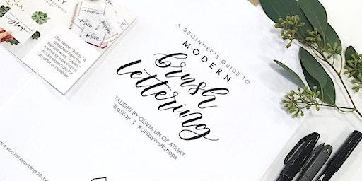 Beginners Brush Lettering Workshop - San Diego