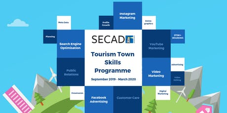SECAD Tourism Towns Skills Programme - YouTube Marketing (Half Day) tickets