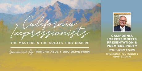 California Impressionists Presentation & Premiere Party tickets