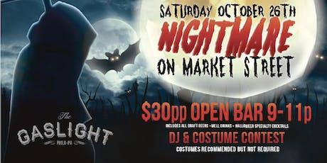 Nightmare on Market St | Halloween Party 2019 tickets