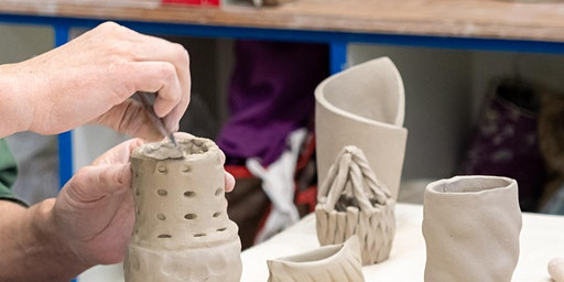 Adult Session 1: All-Levels Hand-building - THURS AM