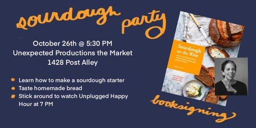 Sour Dough Improv Party and Book Signing with Cynthia Lair