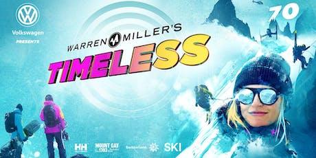 Volkswagen Presents Warren Miller's Timeless tickets