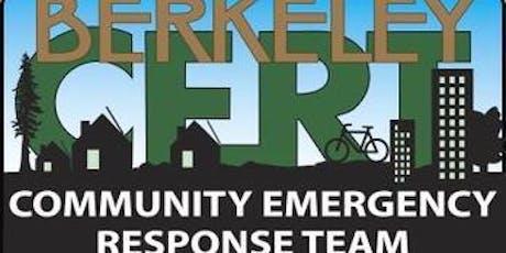 CERT Disaster Preparedness tickets