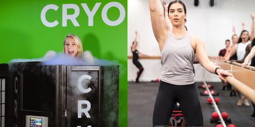 Free Pure Barre Class @ Cryofit TPC