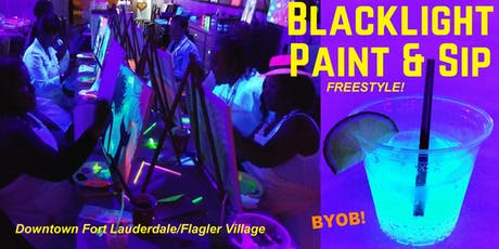 BLACKLIGHT Freestyle Painting tickets