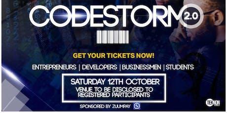 CodeStorm 2.0:  Relevance of Digitization to Africa's Development. tickets