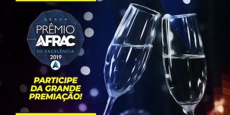 2º Prêmio AFRAC de Excelência ingressos