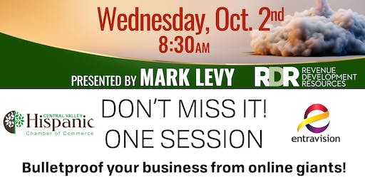 BULLET PROOFING YOUR BUSINESS PRESENTED BY MARK LEVY Modesto
