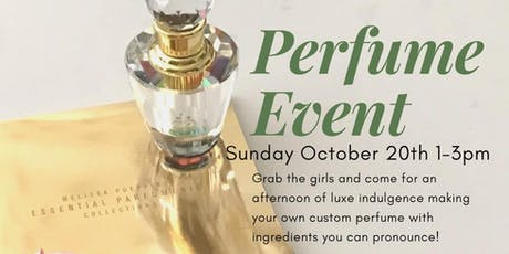 Perfumery Workshop tickets