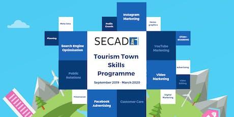SECAD Tourism Towns Skills Programme - Video Marketing tickets