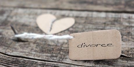 Divorce + Support Group = Healing tickets