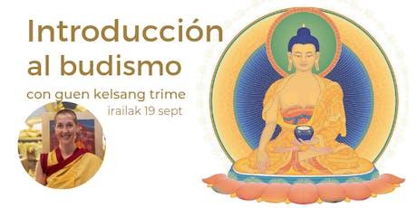 Introducción al budismo entradas
